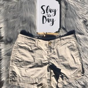 Khaki Old Navy Mini Shorts